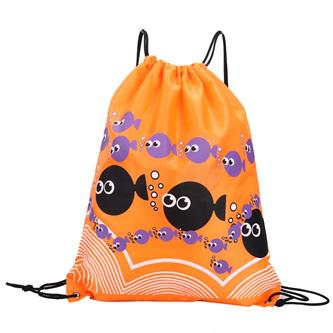 Orange Fish Swim Bag