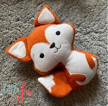 Orange Fox Soft Toy