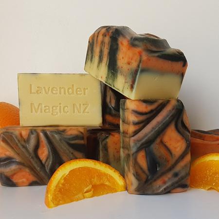 Orange - Goats Milk - Handmade Soap - Limited Edition