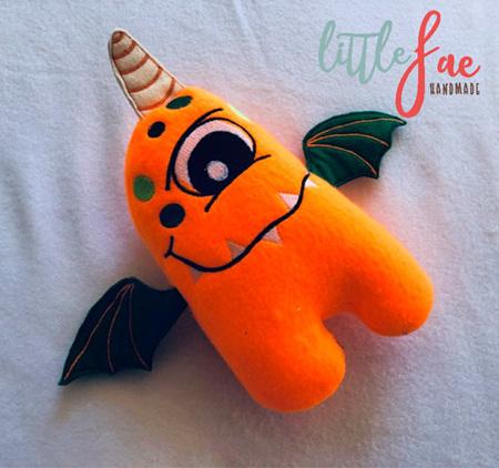Orange One Eyed Monster