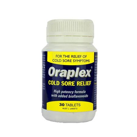 ORAPLEX COLDSORE RLF TAB 30