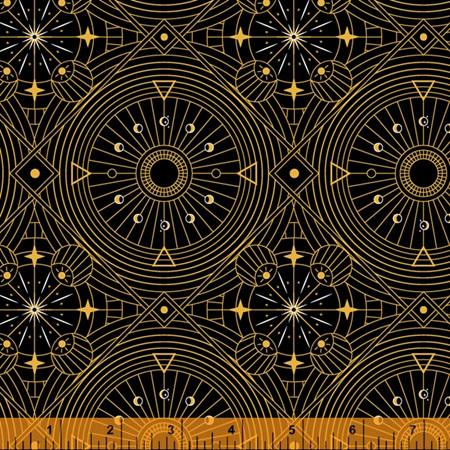 Orbit Celestial Grid Black 52728M-1