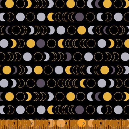 Orbit Moon Phases Black 52729M-1