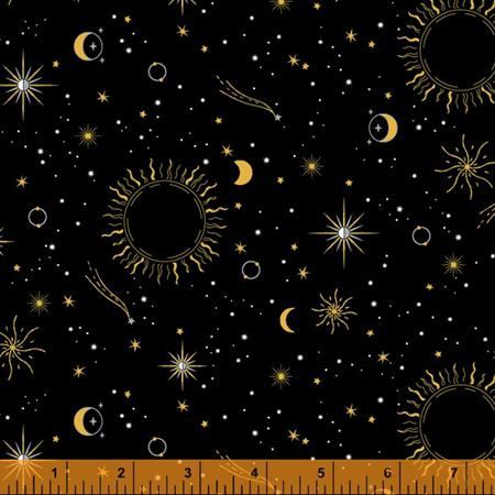 Orbit Sun Moon & Stars Black 52727M-1