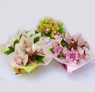 Posy Bowl of Seasonal Flowers