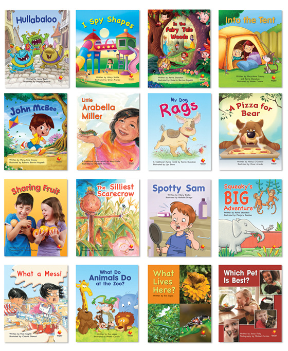 Order Flying Start to Literacy Shared Reading Sets here