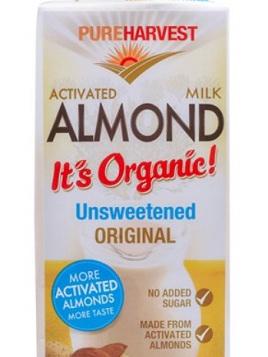 Organic Almond Milk Unsweetened - 1L