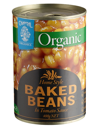 Organic Baked Beans - 400g