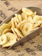 Organic Banana Chips - 100g