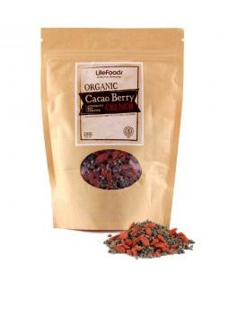 Organic Cacao Berry Crunch 250g