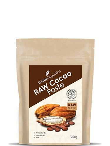 Organic Cacao Paste/Liquor Raw - 250g