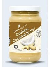 Organic Cashew Coconut Butter - 280g
