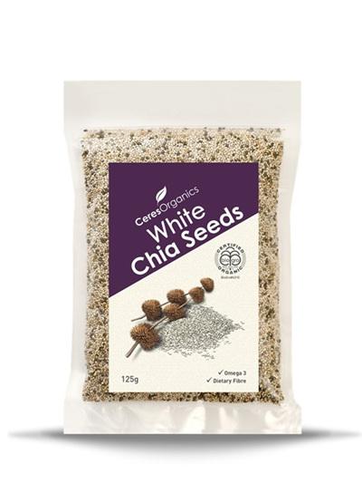Organic Chia Seeds (white) - 125g