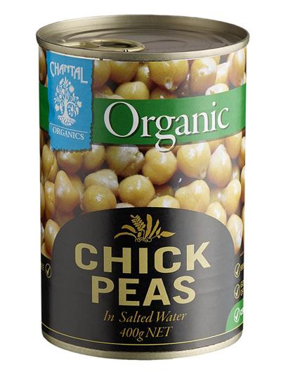 Organic Chickpeas - 400g