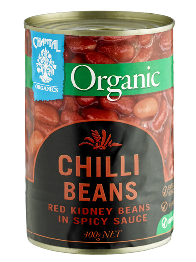 Organic Chilli Beans - 400g
