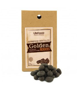 Organic Chocolate Covered Golden Berries - 100g