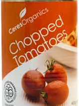 Organic Chopped Tomatoes - 400g