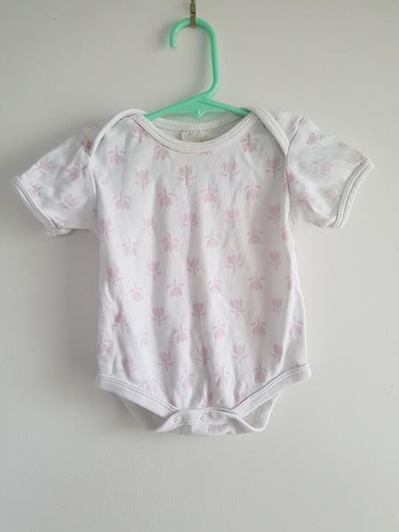 Organic Cotton Flower Bodysuit