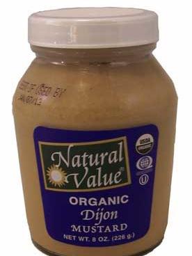 Organic Dijon Mustard - 255g