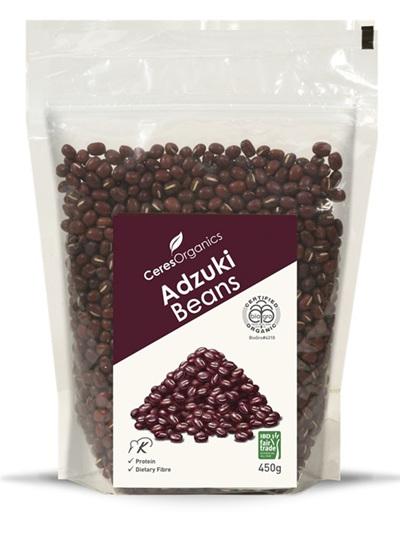 Organic Dried Adzuki Beans - 450g