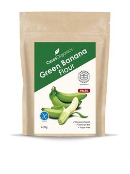 Organic Green Banana Flour - 400g