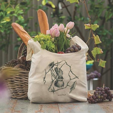 Organic Grocery Bag - Fantail