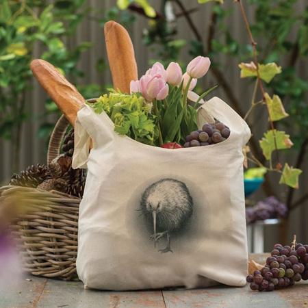 Organic Grocery Bag - Kiwi