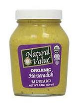 Organic Horseradish Mustard - 226g