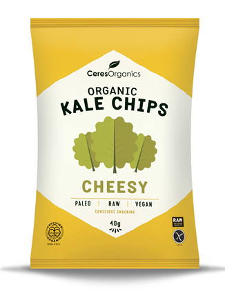 Organic Kale Chips(Cheesy) - 40g