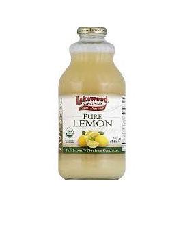 Organic Lemon Juice Pure(946ml)