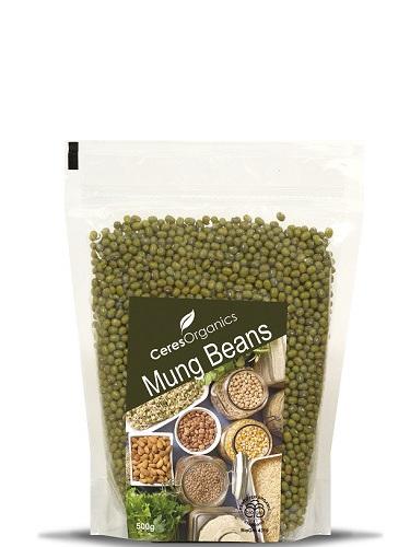 Organic Mung Beans - 500g
