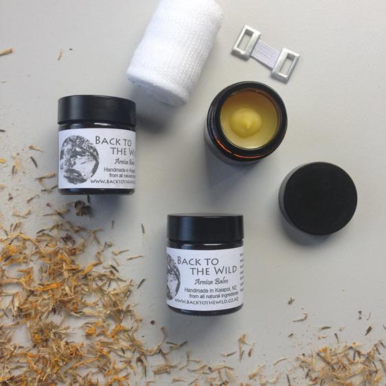 organic natural arnica balm for bumps lumps bruises
