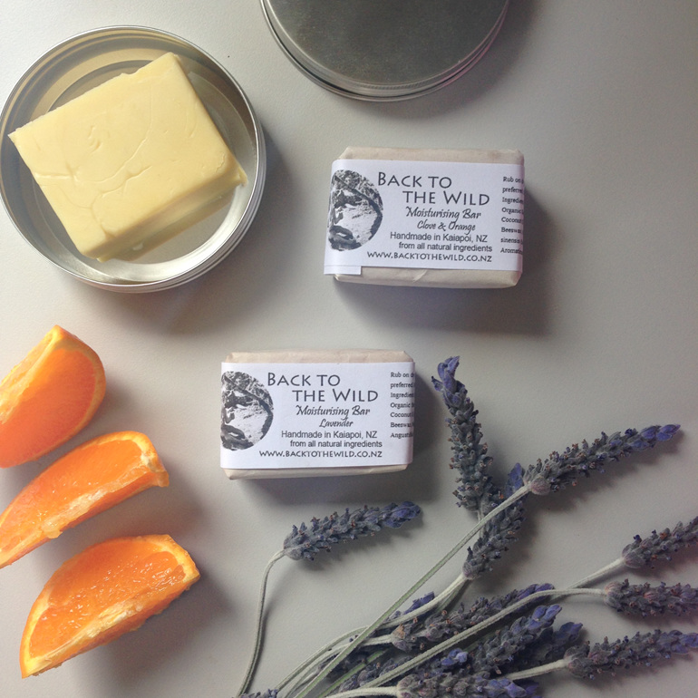 Organic natural moisturising bar zero waste free nz chch essential oils