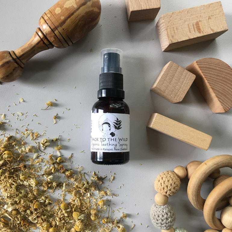 organic natural teething spray nz affordable for babies chamomile spray