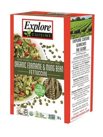 Organic Pasta Edamame & Mung Bean Fettuccine(GF) - 200g