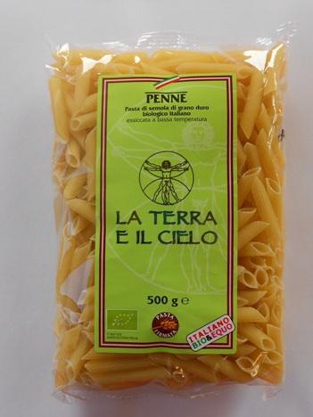 Organic Pasta Penne Semolina - 500g