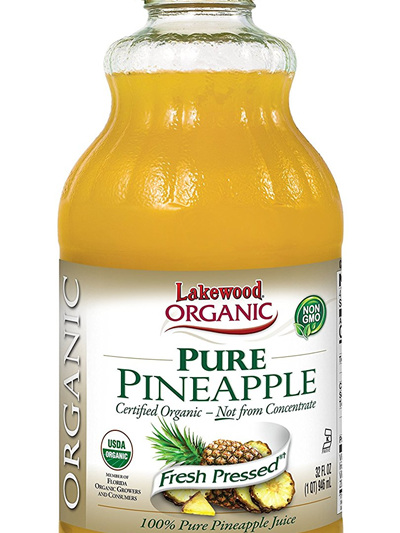 Organic Pineapple Juice Pure(946ml)