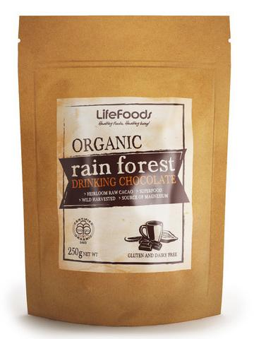 Organic Rain Forest Drinking Chocolate - 250g