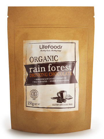 Organic Rain Forest Drinking Chocolate - 250g