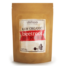 Organic Raw Beetroot Powder - 100g