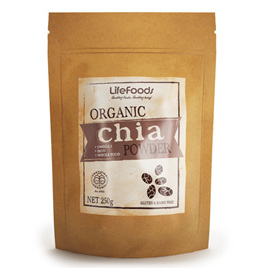 Organic Raw Chia Powder/Flour -250g