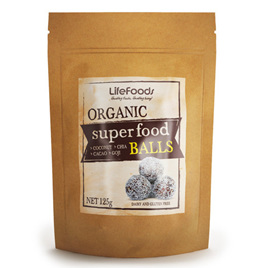 Organic Raw Superfood Balls(10 pack) - 125g