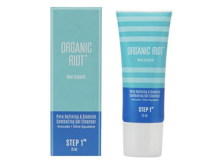 Organic Riot Step 1 Gel Cleanser 35ml