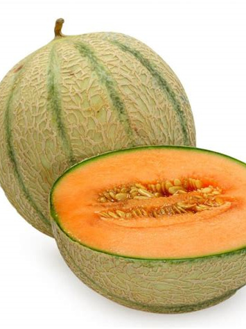 Organic Rock Melon - 1 Large