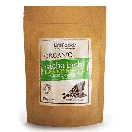 Organic Sacha Inchi Protein Powder 500g