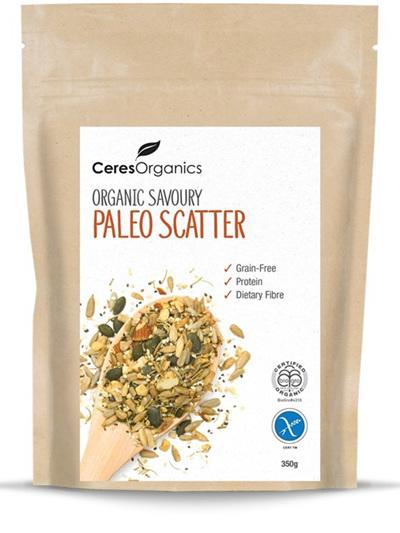 Organic Savoury Paleo Scatter - 350g