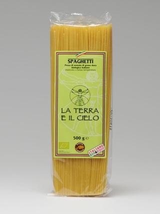 Organic Semolina Spaghetti - 500g