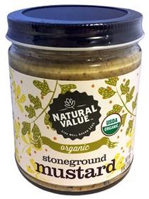 Organic Stoneground Mustard - 255g