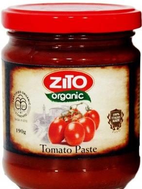 Organic Tomato Paste - 190g
