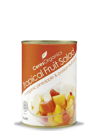 Organic Tropical Fruit Salad in Fruit Juice 400g